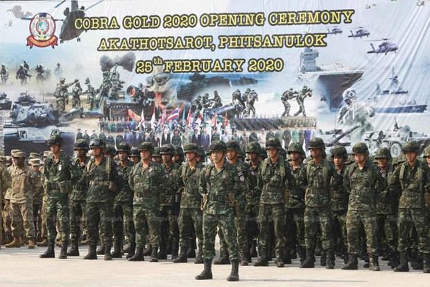Cobra Gold military exercise kicks off amidst coronavirus concerns hinh anh 1