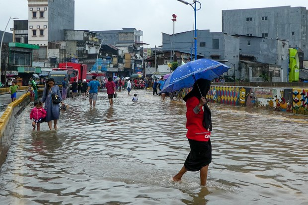 Indonesia's capital hit by flooding hinh anh 1