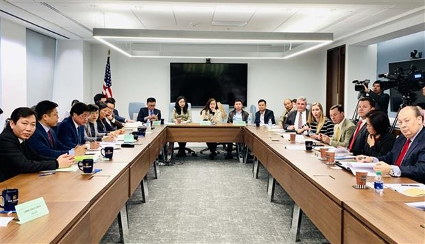 Room for Vietnam-US farm produce trade remains huge: roundtable hinh anh 1