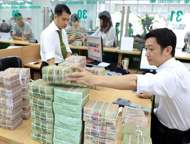 Reference exchange rate down 6 VND on February 26 hinh anh 1