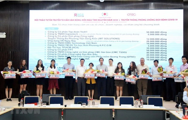 IT firms in HCM City joint efforts against COVID-19 hinh anh 1