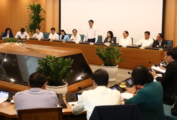 Hanoi strives to promote growth amid COVID-19 outbreak hinh anh 1