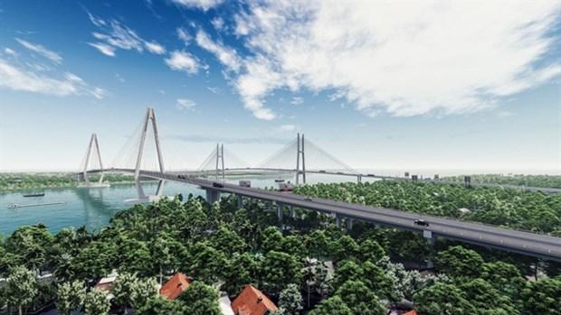 Work starts on My Thuan Bridge 2 hinh anh 1
