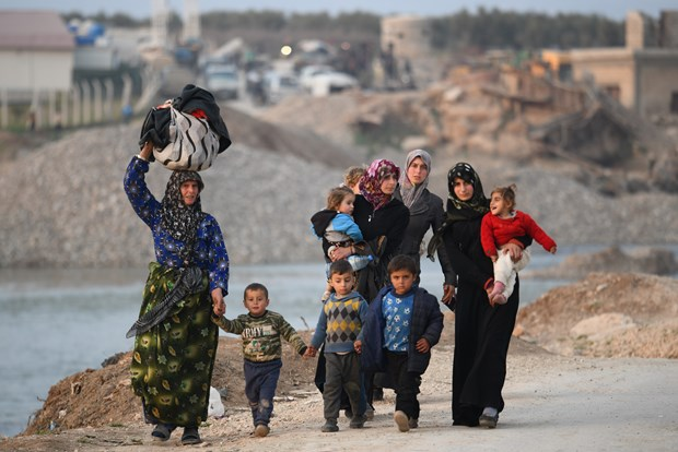 Vietnam calls for solution to humanitarian crisis in Syria hinh anh 1