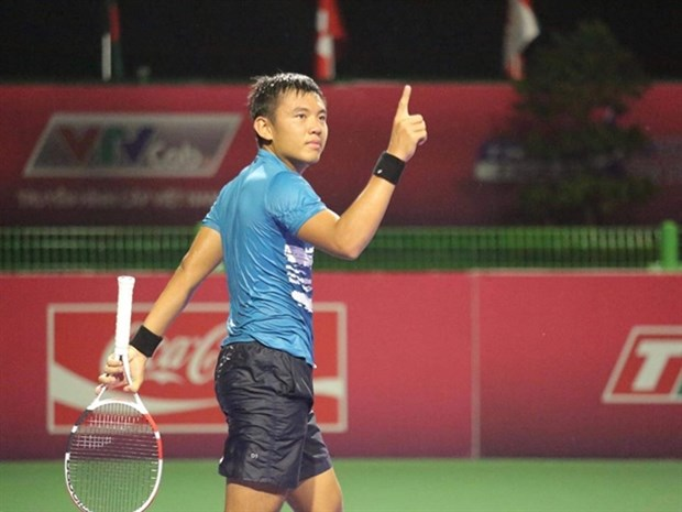 Vietnam's top tennis player Nam advances in Egyptian tennis tournament hinh anh 1