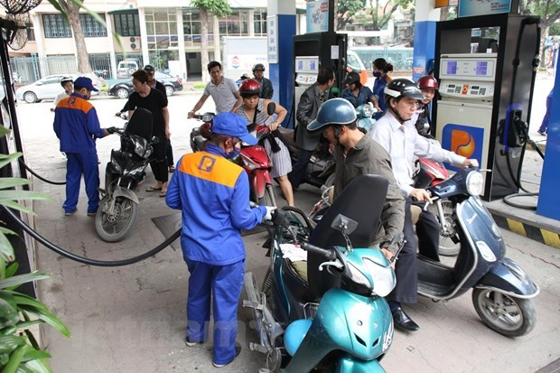 Petrol prices continue falling in latest review hinh anh 1