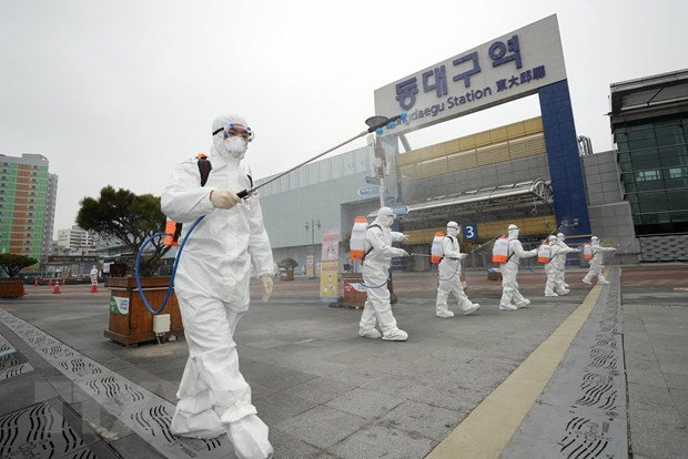 Vietnamese citizen infected with SARS-CoV-2 virus in RoK hinh anh 1