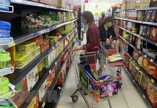HCM City: February retail sales, service revenue drop hinh anh 1