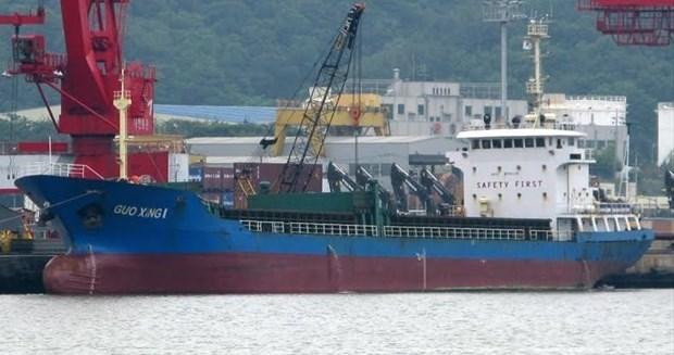Five Vietnamese sailors missing as vessel sinks off Japan hinh anh 1