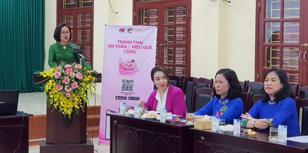 Project to benefit female labourers in Hai Phong hinh anh 1