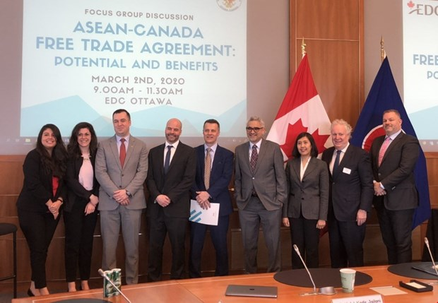 Workshop highlights ASEAN-Canada Free Trade Agreement hinh anh 1