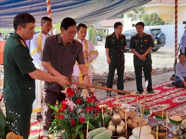 Work starts on another Vietnam-Cambodia Friendship Monument hinh anh 1