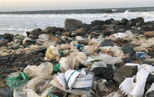 Khanh Hoa looks to halve marine plastic waste by 2025 hinh anh 1