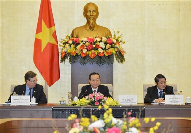 Vietnam hopes to intensify ties with US: NA Vice Chairman hinh anh 1