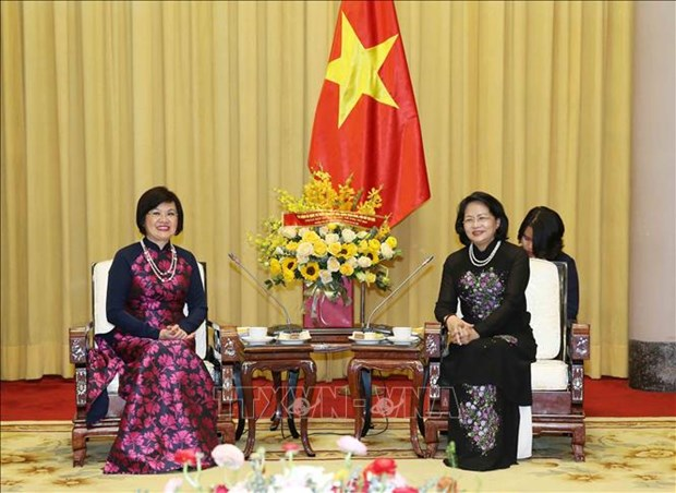 Vice President commends ASEAN Community Women's Group's activities hinh anh 1