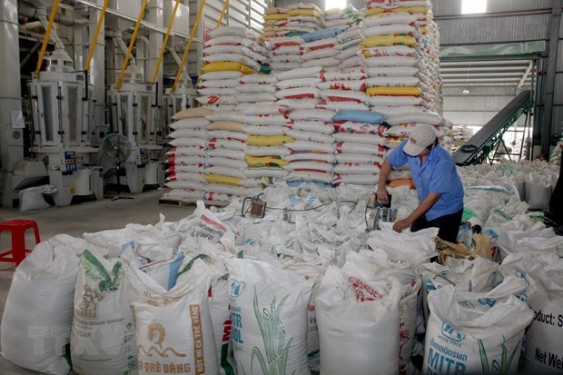 Rice export prices surge amid high demand hinh anh 1