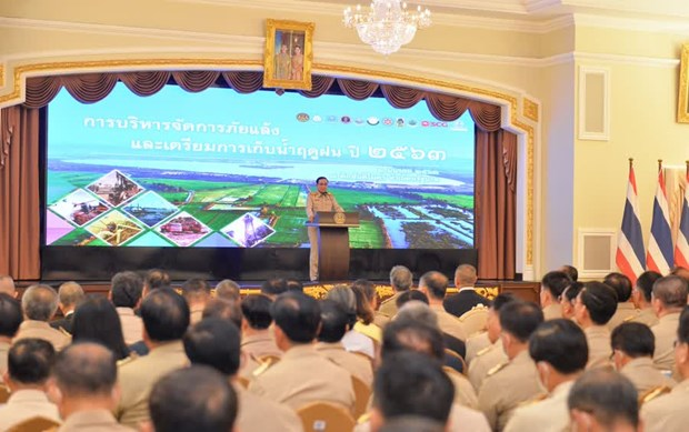 Thai PM emphasizes drought fighting measures hinh anh 1