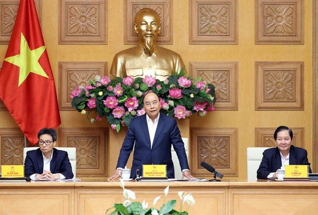 Prime Minister chairs National Wage Council's meeting hinh anh 1
