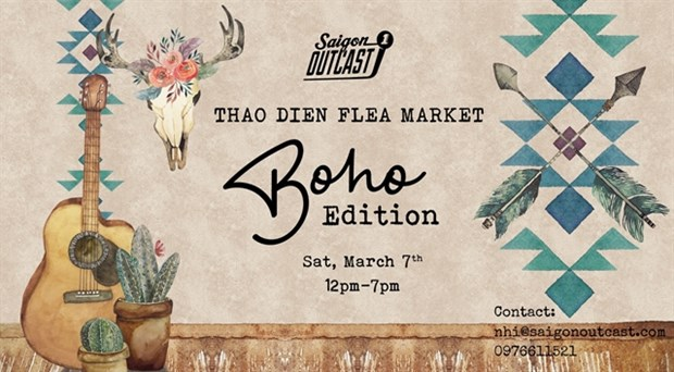 Boho flea market to open in HCM City hinh anh 1
