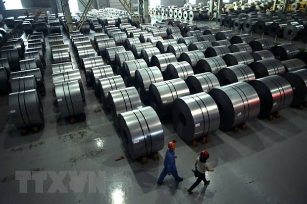 Hoa Phat's February steel exports almost triple year-on-year hinh anh 1