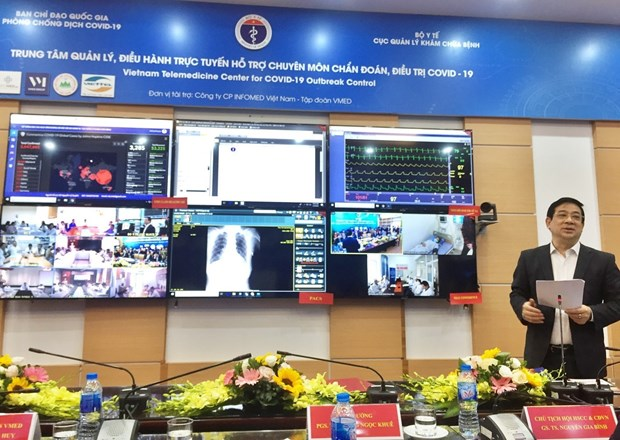 Telemedicine Centre for COVID-19 Outbreak Control makes debut hinh anh 1