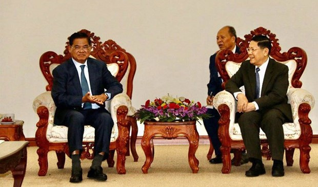 Cambodia, Laos continue working on border security issues hinh anh 1