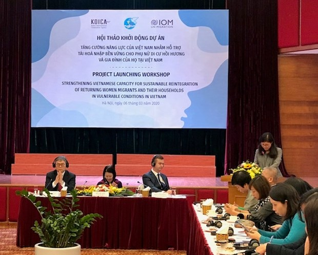 Project helps women migrant returnees reintegrate hinh anh 1