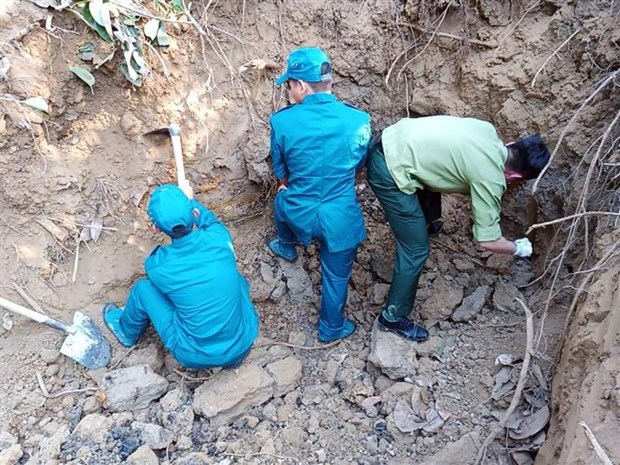Over 300kg of ammunitions, explosives in Dien Bien Phu city deactivated hinh anh 1