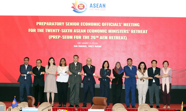 Vietnam proposes 13 priorities for 26th AEM Retreat hinh anh 1