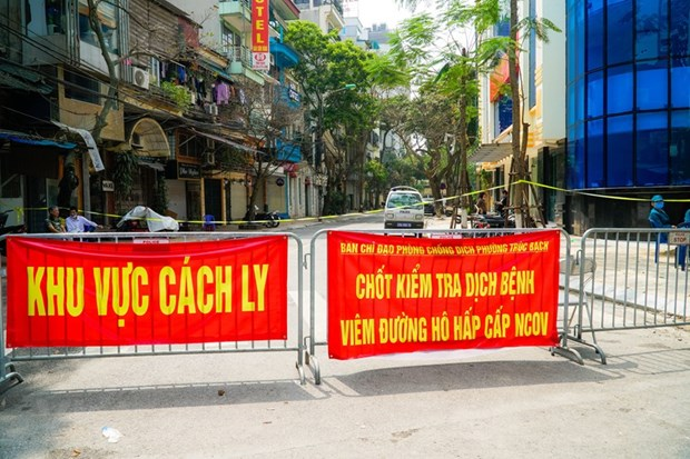 Hanoi ramps up efforts to contain COVID-19 spread hinh anh 1