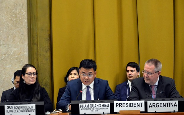 Vietnam supports all efforts to promote disarmament hinh anh 1