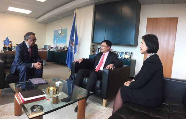 WHO chief lauds Vietnam's efforts against COVID-19 hinh anh 1