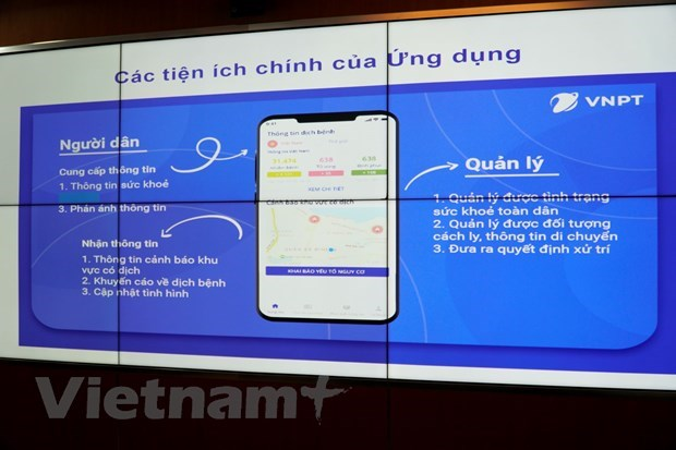 Health declaration apps launched in support of COVID-19 combat hinh anh 1