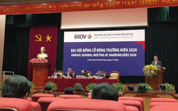 BIDV clears bad debts at VAMC hinh anh 1