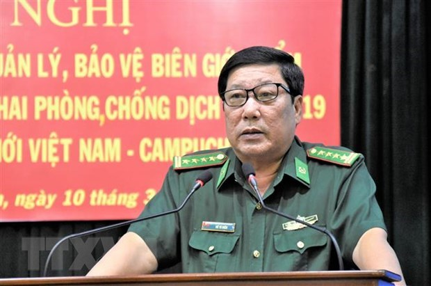 Border guard force tightens management of border gates amid COVID-19 hinh anh 1