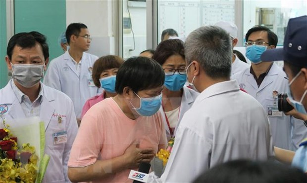 Chinese diplomat thanks HCM City hospital's care for citizens hinh anh 1