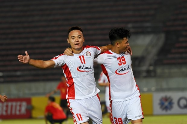 HCM City bag more win at AFC Cup hinh anh 1