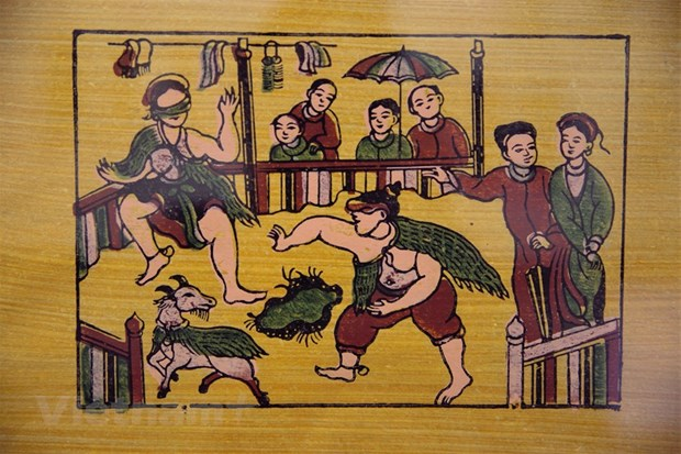 Bac Ninh completes dossier on Dong Ho folk painting genre hinh anh 1