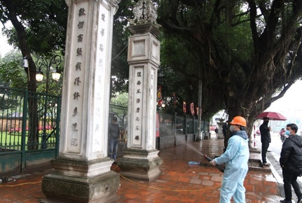 Hanoi's tourist sites closed for disinfection hinh anh 1