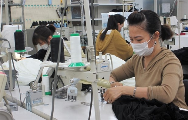 Japan provides top care for Vietnamese guest workers hinh anh 1