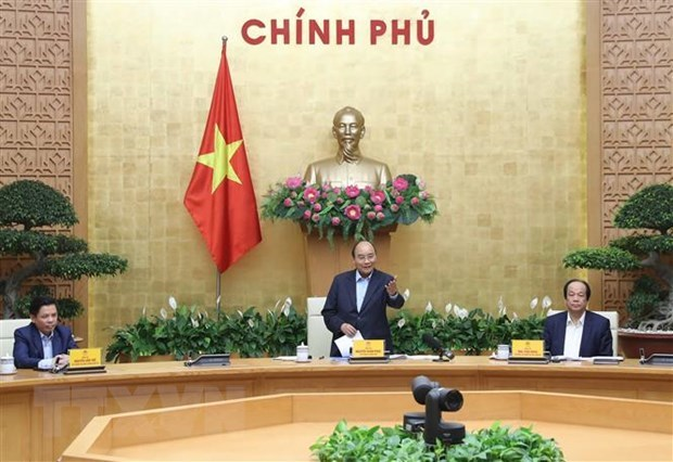 PM attends conference reviewing national public service portal hinh anh 1