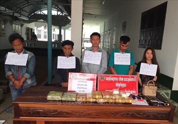 Vietnam, Laos provinces bust cross-border drug trafficking ring hinh anh 1