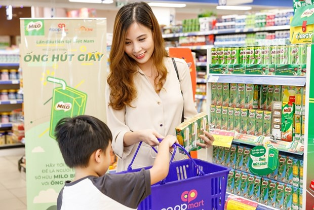 Nestle Vietnam to switch to paper straws hinh anh 1