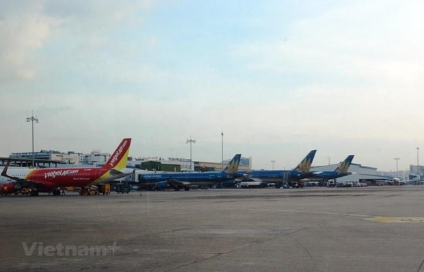 Health Ministry announces 8 flights with passengers contracting COVID-19 hinh anh 1