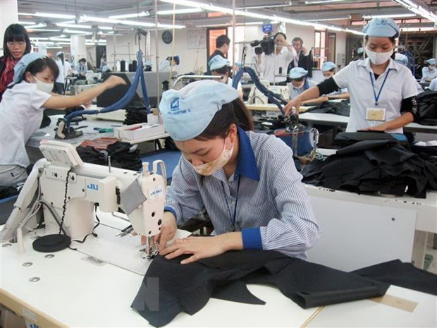 Garment export value hits 5.3 billion USD during Jan-Feb hinh anh 1