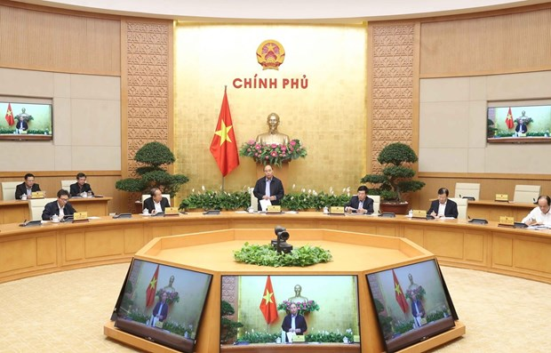 """Vietnam now at """"golden stage"""" of COVID-19 fight: PM hinh anh 1"""