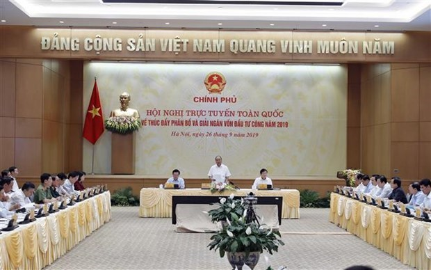 Public investment disbursement conference slated for April hinh anh 1