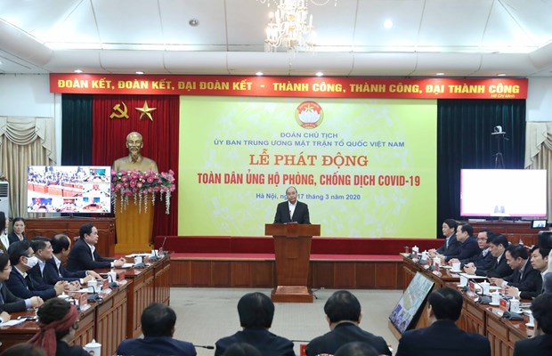 Further contributions needed for COVID-19 fight: Prime Minister hinh anh 1