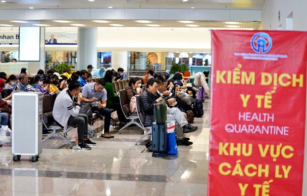 COVID-19: passengers from ASEAN countries subject to compulsory quarantine hinh anh 1