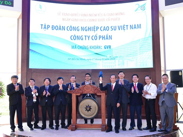 Rubber group moves listing from UPCoM to HoSE hinh anh 1